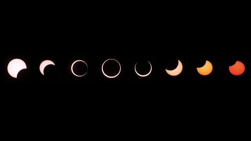 Jaw-dropping photo and video of yesterday's annular eclipse