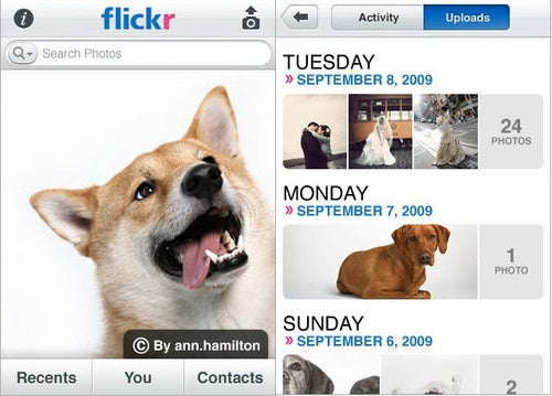 Wait, Flickr Didn't Already Have an iPhone App?