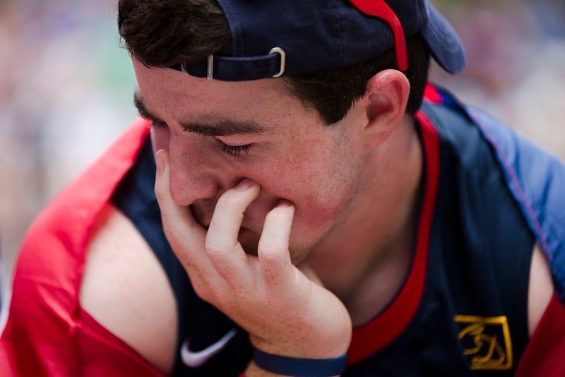 Here He Is, The Saddest American Soccer Fan