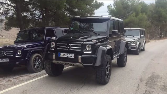 Gee classless a g500 4x4 counterpoint for Mercedes benz g wagon squared