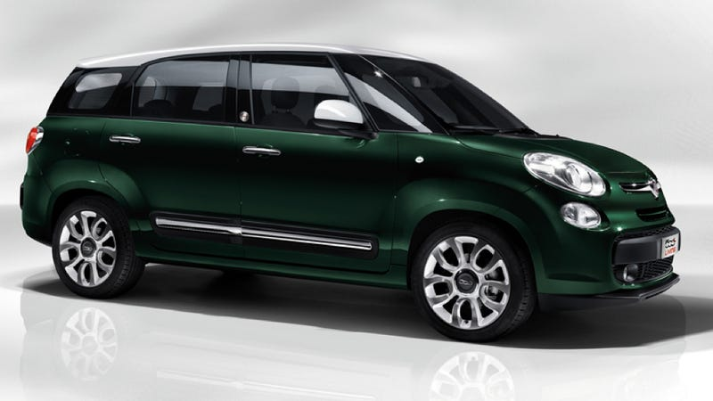 The Fiat 500L Gets Even Huger With The Seven Seat 500L Living