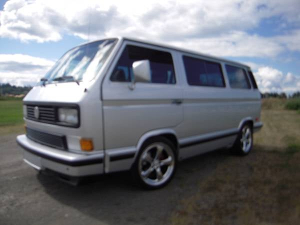 For $20,000, Vanagon Baby Gone.