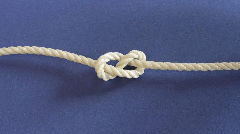 El material más resistente del mundo está hecho de nudos