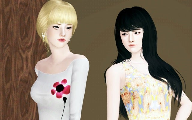 This Isn't a Korean Fashion Magazine, It's The Sims 3