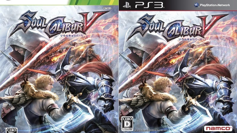 Assassin's Creed Makes SoulCalibur V's Box Art Better