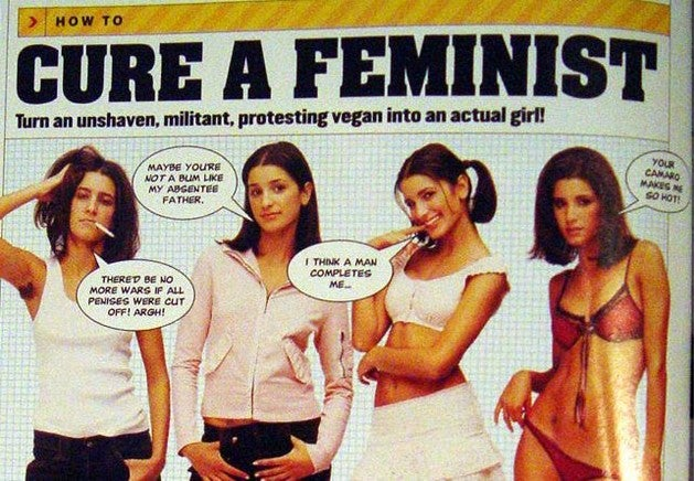 "Maxim's Tips For ""Curing"" Feminists"