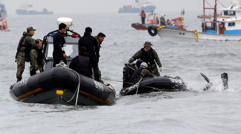 Captain and 2 Crew Members Arrested After S. Korean Ferry Catastrophe