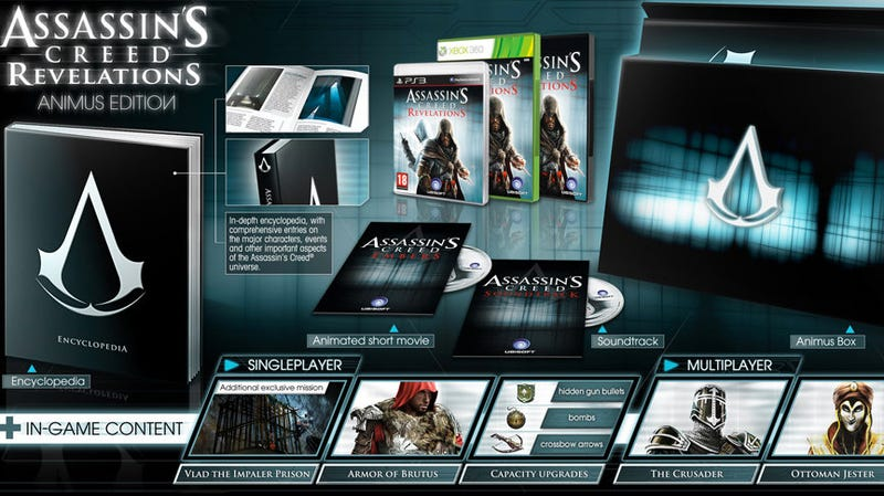 Special Edition of Assassin's Creed: Revelations Sends Ezio After... Vlad the Impaler?