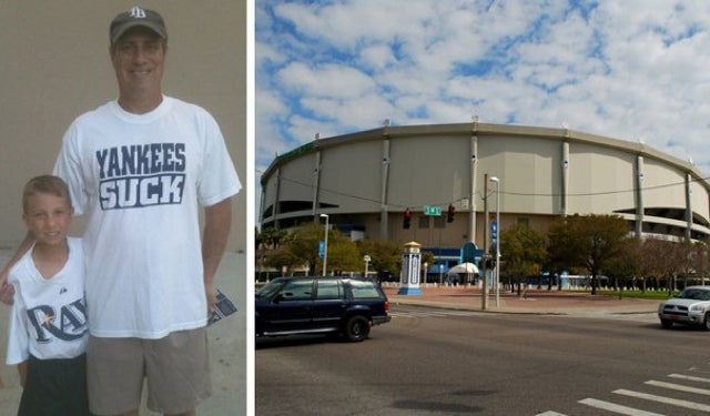 "Rays Fan, A Lawyer, Ejected For Wearing A ""Yankees Suck"" T-Shirt, Surely Won't Pursue Any Legal Recompense"