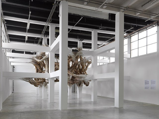 An Otherworldly Gordian Knot Sculpture That Dares You To Climb It