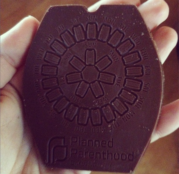 Planned Parenthood Just Sent Us Chocolate Birth Control