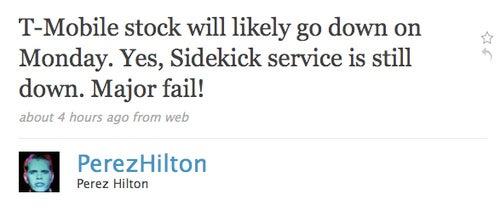 Perez Hilton Aims To Bring Down T-Mobile Stock