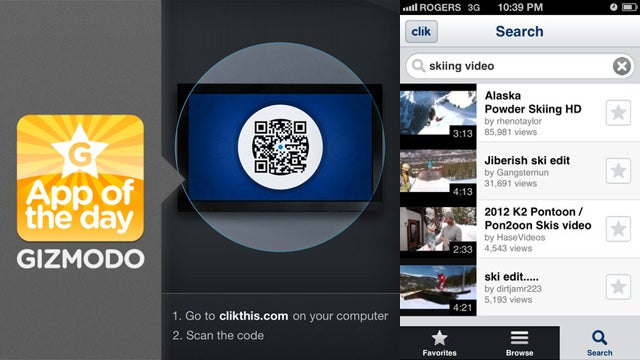 Clik for iPhone and Android: Magically Control Any Web Browser from Your Phone