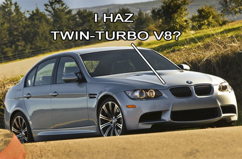 BMW Don't Know Squat, Think M3 Has Twin-Turbo V8