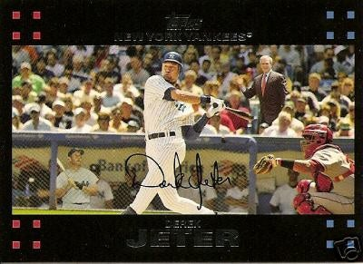 And Here's Our 2007 Jeter Card ... What The Fungus?