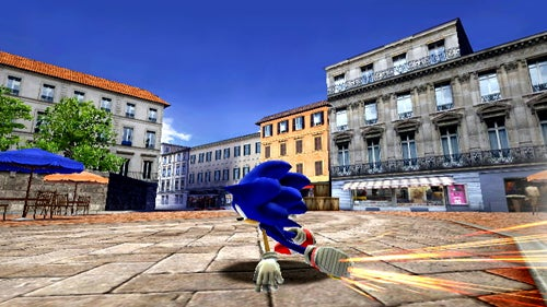 New Sonic Unleashed Screens