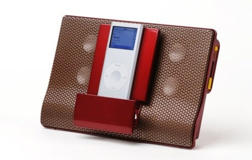 Eino Speakers: An Attractive Portable iPod Dock At Last