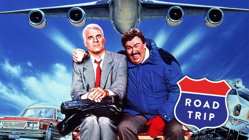 "Retrace a Classic on this ""Planes, Trains & Automobiles"" Road Trip"
