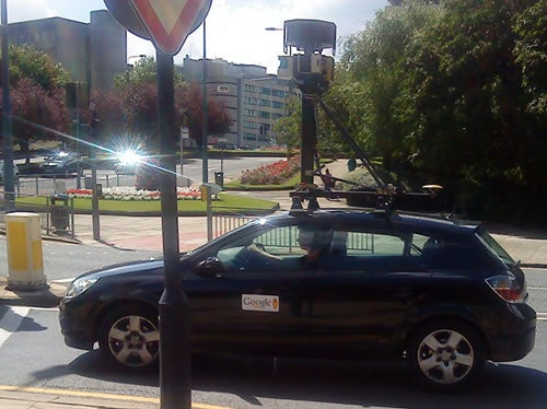 UK Google Street View Car Busted By Cops