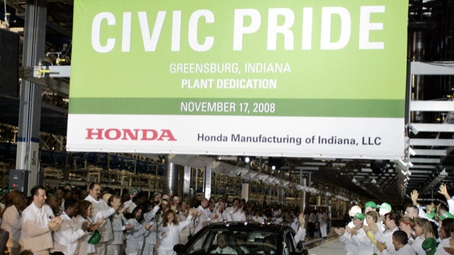 Nissan Leafs Burning In Arizona, Honda Grows In Indiana, And GM Moving In Manhattan
