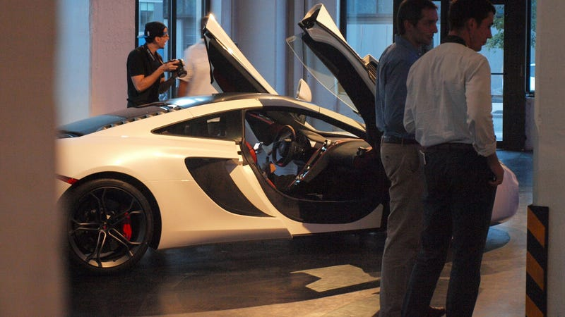 The McLaren 12C Spider Live At Classic Car Club Manhattan
