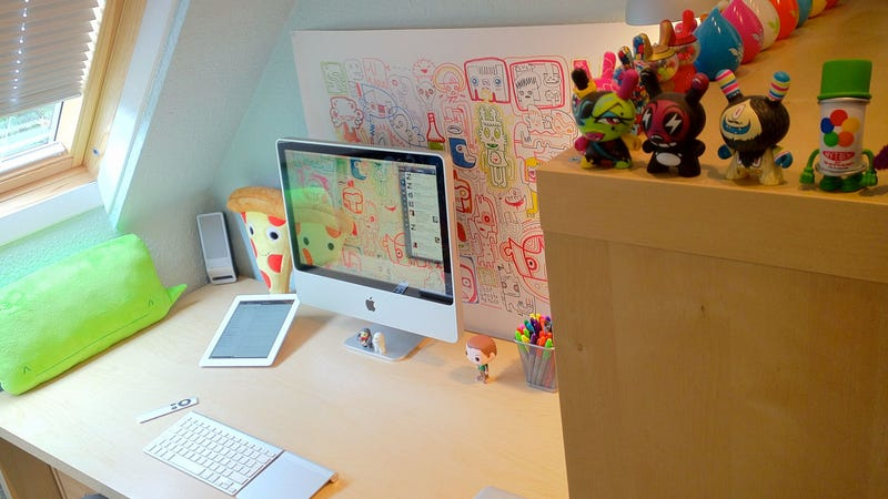 The Illustrated Workspace