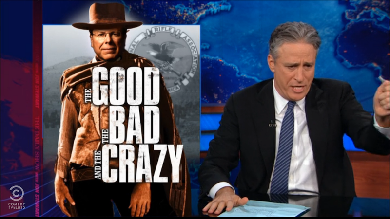 Jon Stewart: The Good, the Bad, and the Crazy at the NRA Convention