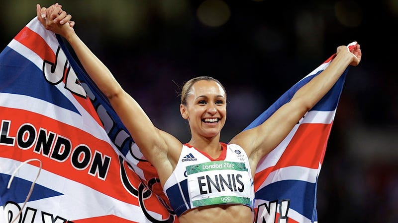 British Heptathlete Jessica Ennis Will Now Enjoy Some Wine with Her Gold Medal