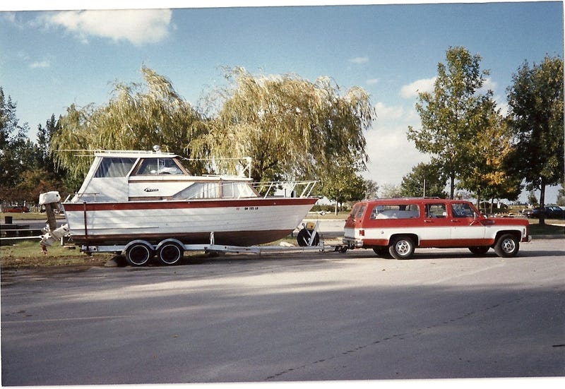 The Great American Land Yacht w/yacht