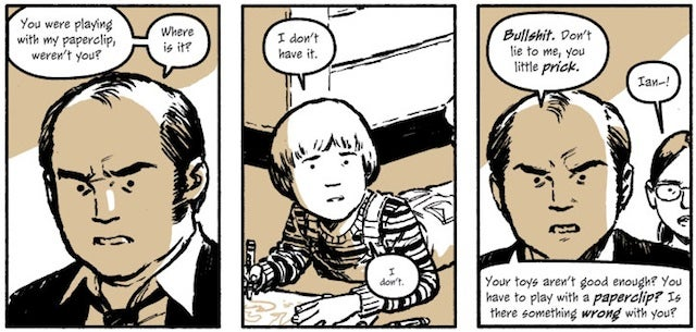 Discover Cameron Stewart's intense, paranoid webcomic Sin Titulo — in print!