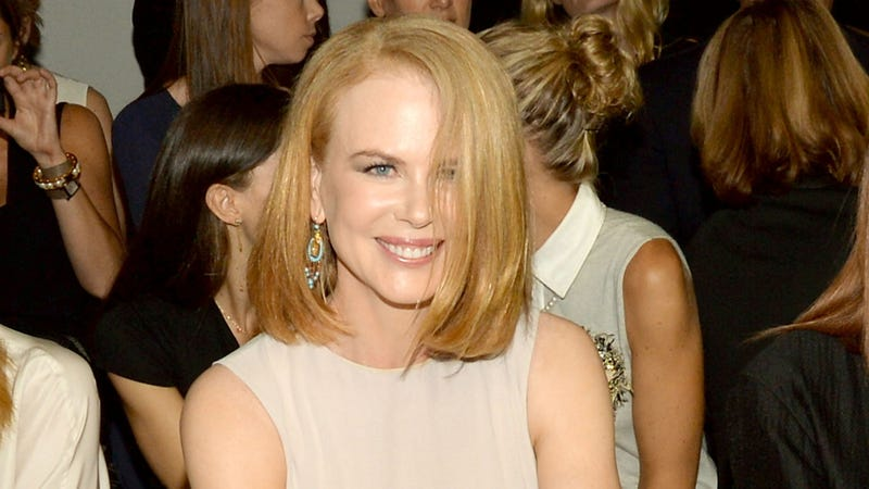 Nicole Kidman Got Run Over by a Bike