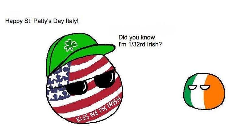 Polandball - St. Pat's Ed.