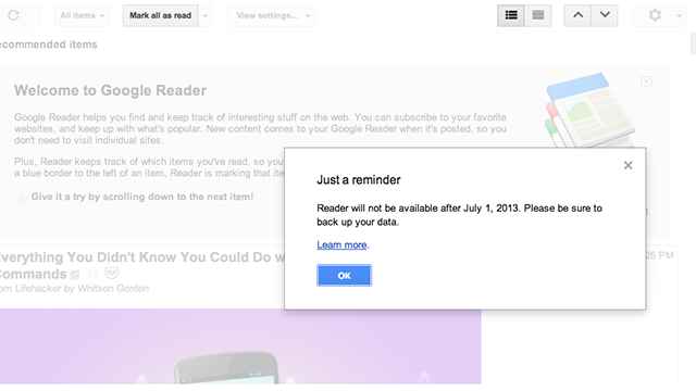 How a Lone Coder Cloned Google Reader