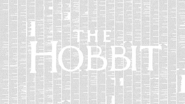 What The Hobbit Looks Like Printed On A Single Giant Page
