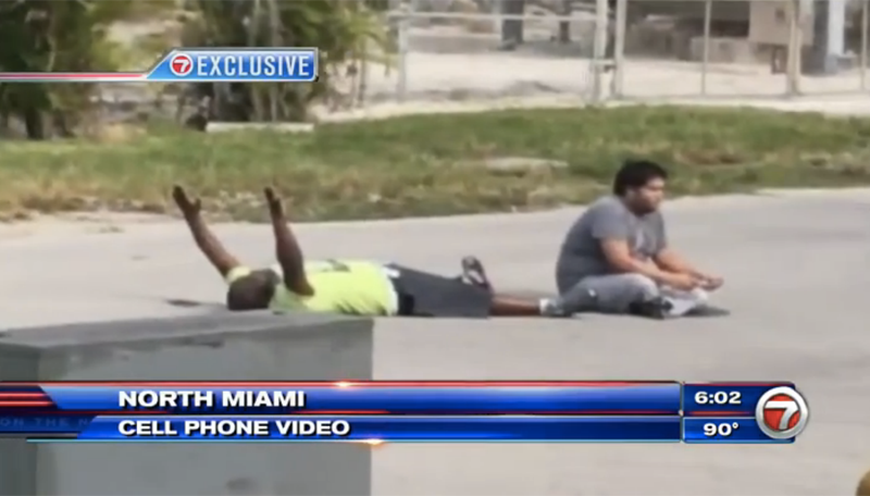 Officer Was Aiming For the Autistic Man, Shot His Unarmed Black Therapist By Accident, Says Miami Police Union Chief