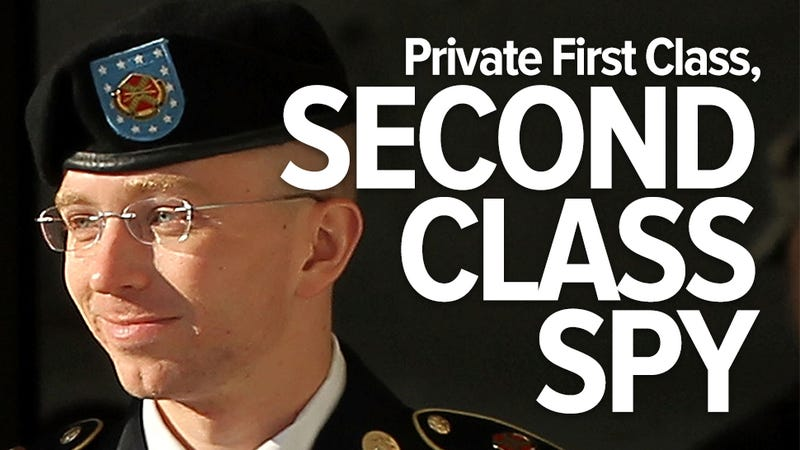 Bradley Manning: Not guilty of aiding the enemy, guilty of espionage