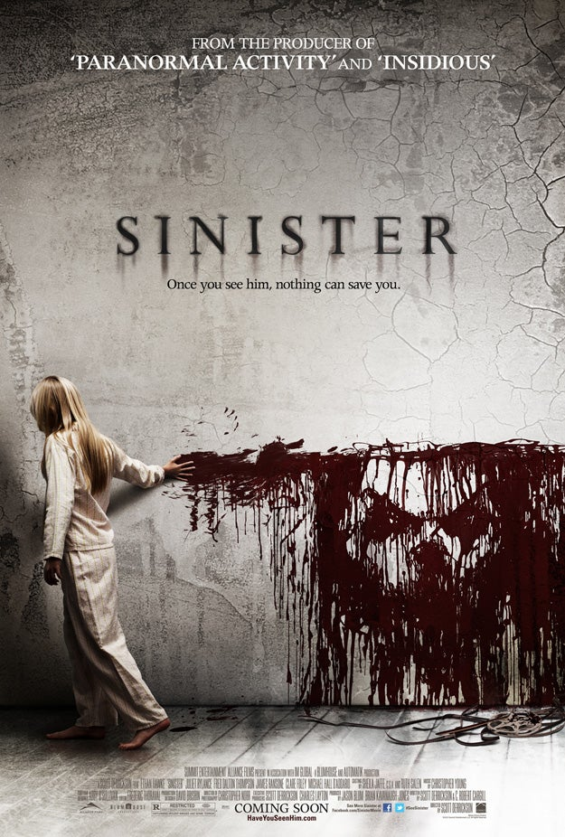 One-Sheet Poster for Sinister