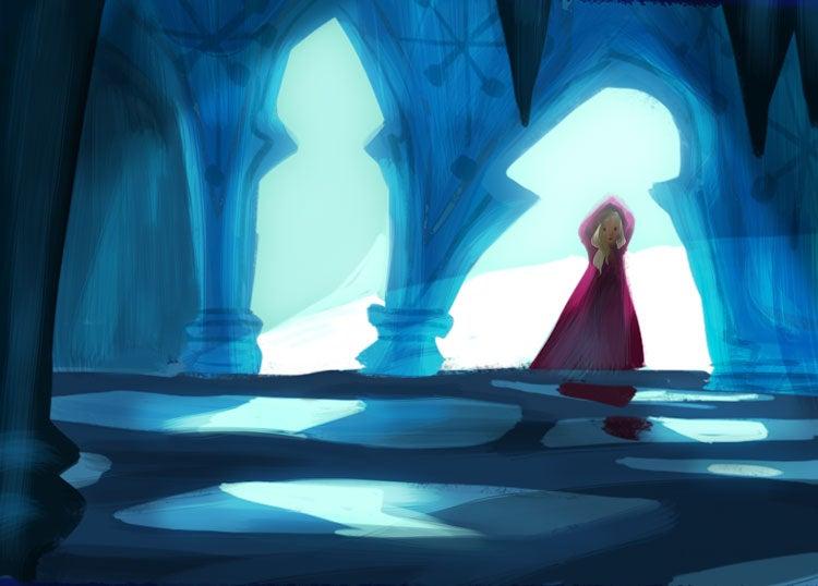Stunning Frozen Concept Art Reveals The Snow Queen You ...
