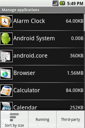 Android Cupcake OS Update Screenshots Show Virtual Keyboard, New Applications