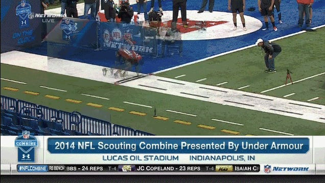 Jadeveon Clowney's 40-Yard Dash Run Was Ridiculous