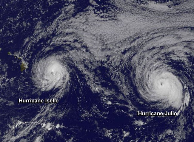 Meteorologists Did an Incredible Job Forecasting Hurricane Iselle