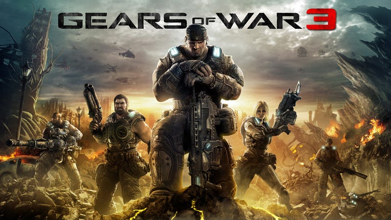 Early Gears of War 3 Code Hits Internet, Cops Investigating