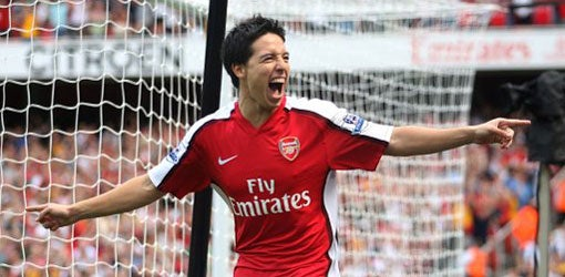 Welcome to England, Monsieur Nasri