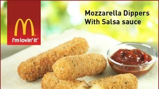 McDonald's is Testing Mozzarella Sticks Now