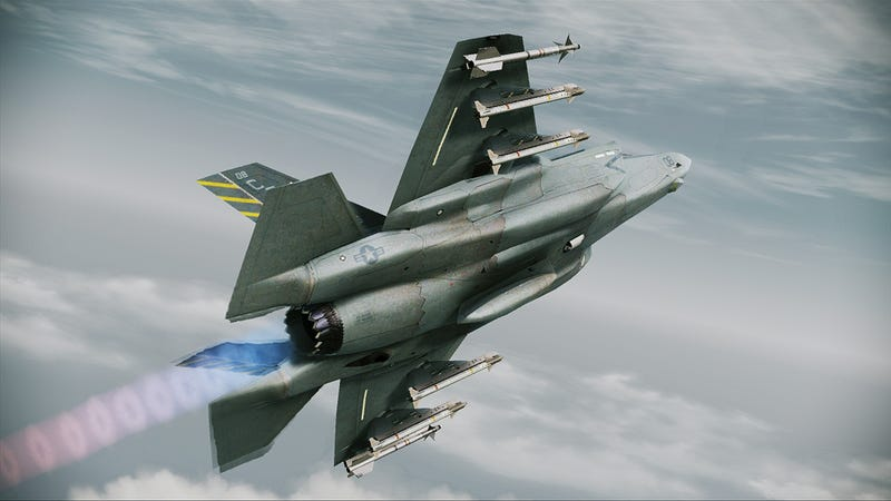 The Stealth, Speed and Devastation of Ace Combat Assault Horizon