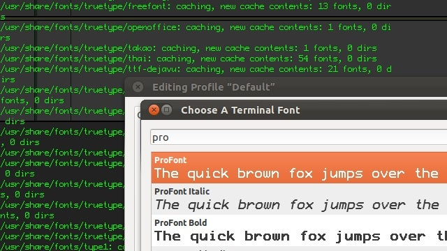 ProFont Makes Terminal and Code Readable at Nearly Any Size