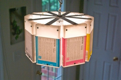 Epson Ink Cartridge Lamp Is Color Compatible With Any Decor