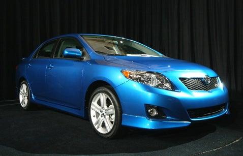 SEMA 2007: Toyota Corolla XRS for 2009
