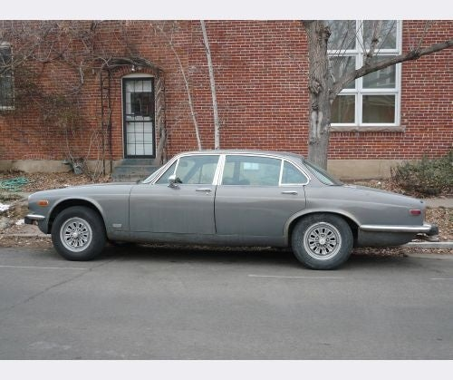 Malaise Era Jaguar XJ12L Down On The Denver Street