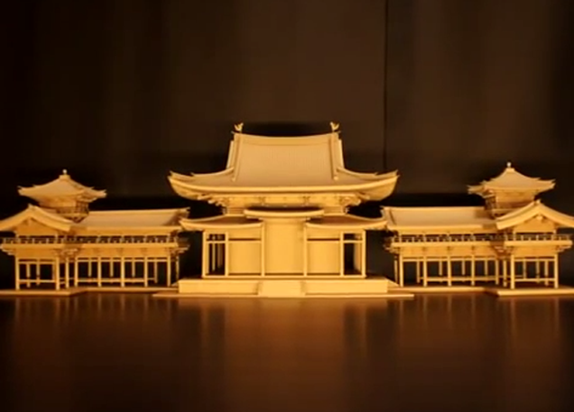 how to make temple with cardboard